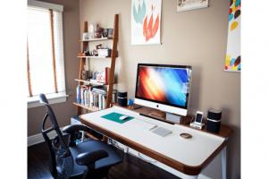 ¿Cómo pintar tu nueva oficina en casa?