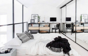 Tips para agrandar un cuarto pequeño