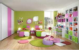 5 colores para usar en la habitación de tus hijos