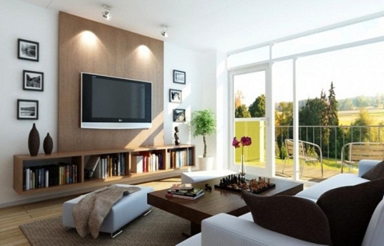 sala con luz natural