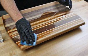 6 pasos para hacer una tabla de cortar de madera