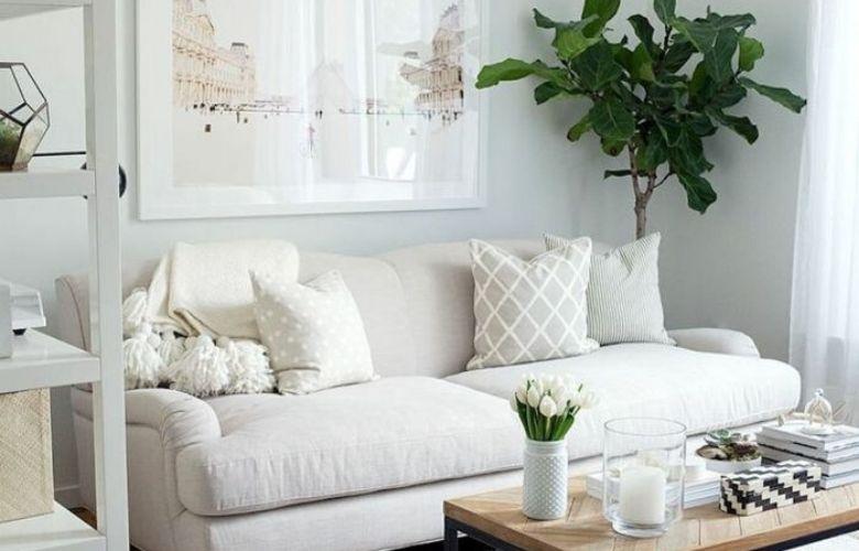 El color correcto puede cambiar la apariencia de tu pequeño espacio
