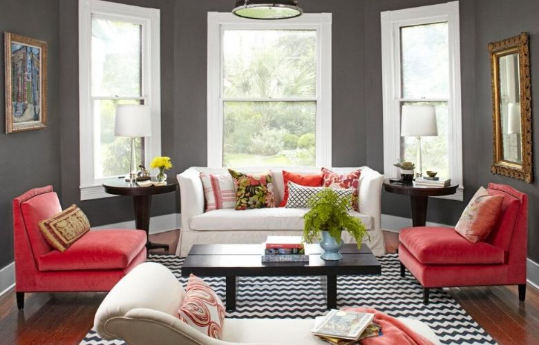 Diseño de sala de estar atemporal