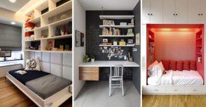 Ideas de decoración para cuartos pequeños