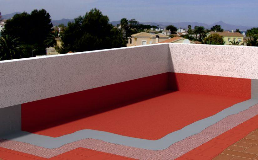 techo con impermeabilizante