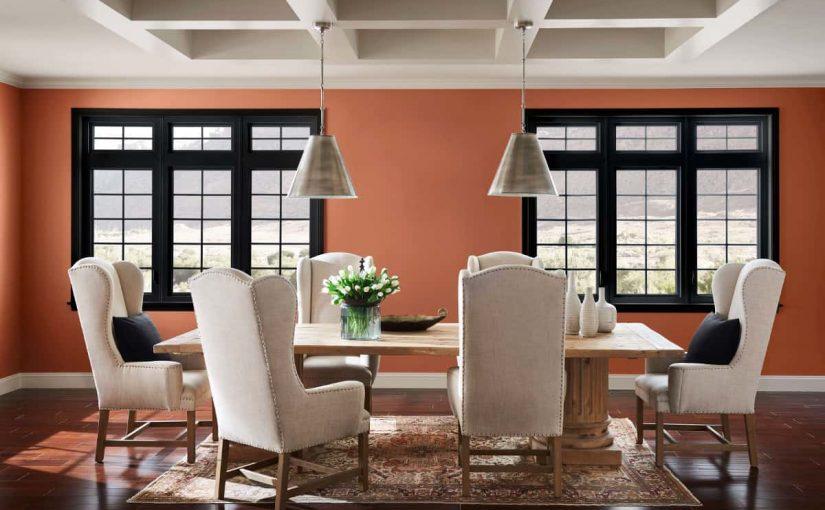 pinturas en interiores color arcilla
