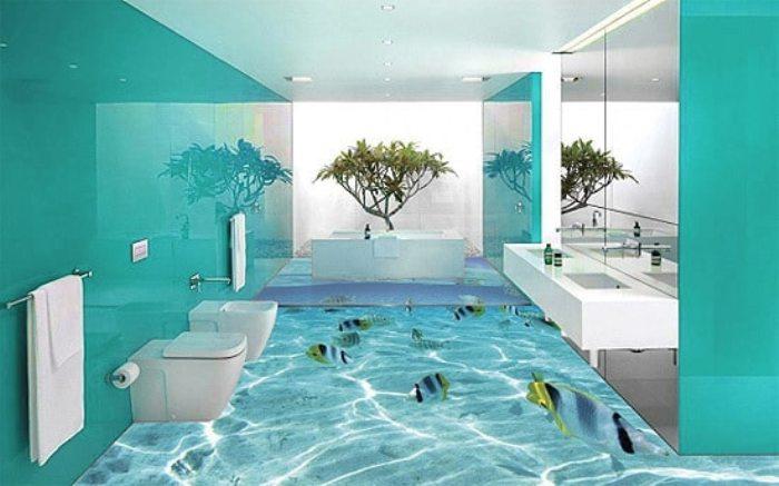 Los mejores colores de pintura para el baño