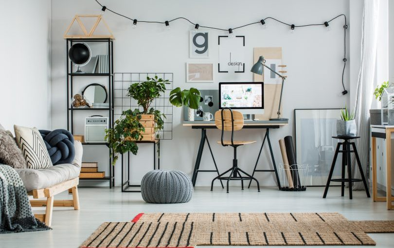 Colores perfectos para tu oficina en casa
