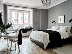 Consejos para pintar tu dormitorio de gris