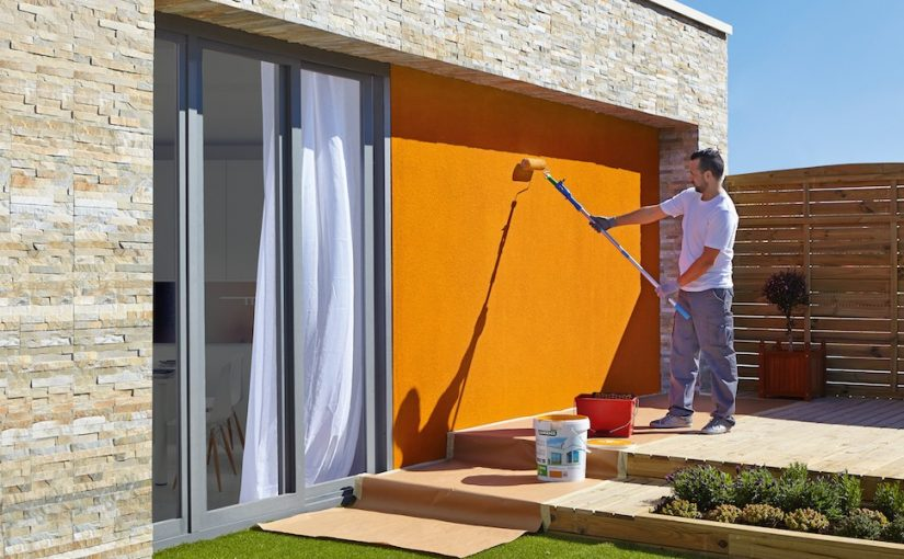 Pasos para pintar el exterior de tu casa