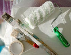 Qué materiales tener en un kit de pintura